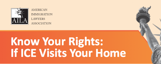 Know your rights if ICE visits your home