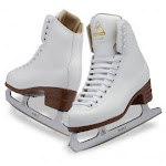 (Adult C 6) - Jackson Ultima Excel Series JS1290 / JS1291 / JS1294 White, Women's and Girls Figure Ice Skates