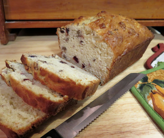 White Cranberry Nut Bread