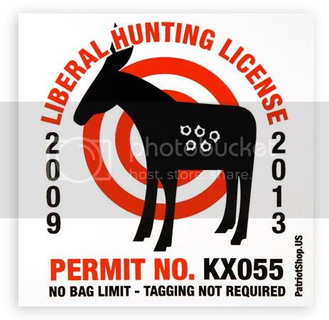 liberal hunting license