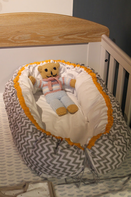 Sewing: Scandinavian Style Baby Nest - Rebel Angel
