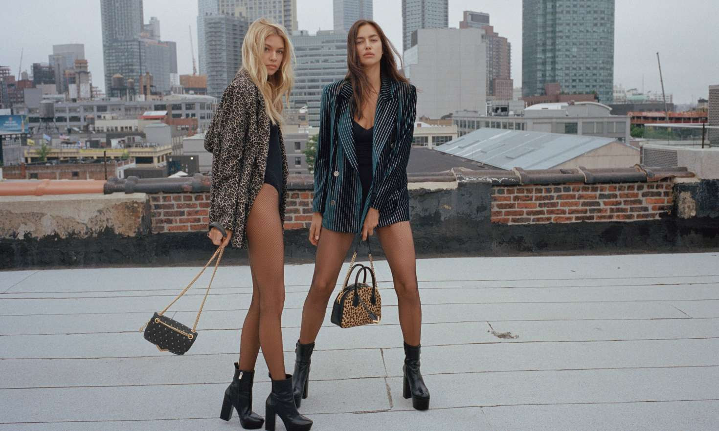 Irina Shayk and Stella Maxwell for The Kooples 2018 Collection