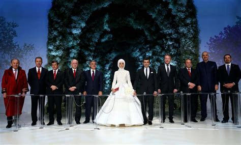 Pictures From The Wedding Of Erdogan's Daughter   Arabia