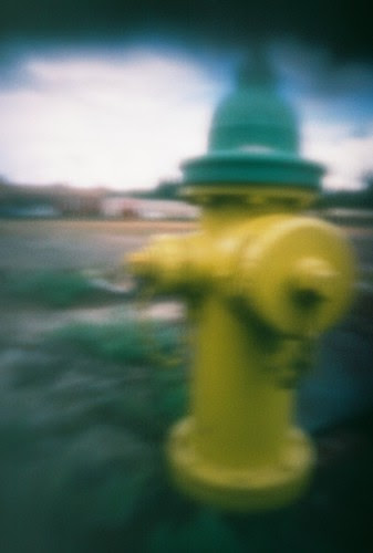 pinhole fire hydrant