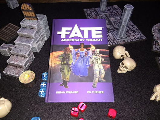 Let's Make Some Villains - Fate Adversary Toolkit Review - rpg stuff