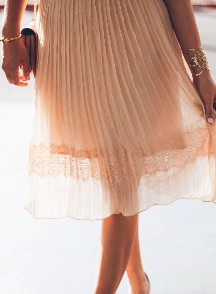Blushing Lace