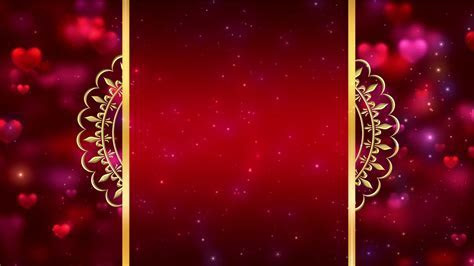 Royal Intro Title Wedding Invitation Background Video