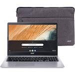 Acer 315 CB315-3H-C2C3 15.6″ Chromebook - Celeron N4000 1.1 GHz - 4 GB RAM - 32 GB SSD - Pure Silver