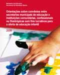 Orientações sobre convênios entre secretarias municipais de educação e instituições comunitárias
