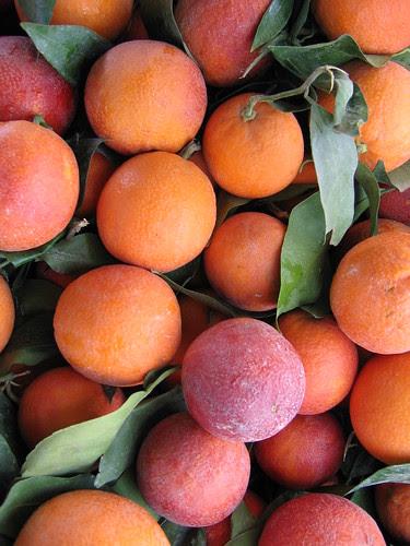 Blood Oranges at Farmers' Market