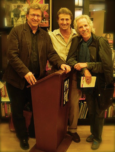 Writer Phil Cousineau, Photographer Eric Lawton and Musician John Densmore