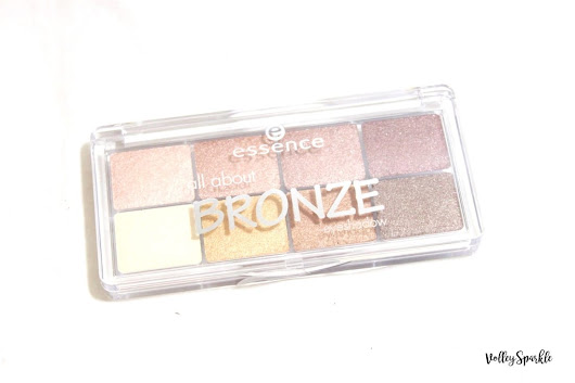 Essence All About Bronze Eyeshadow Palette | Review & Swatches