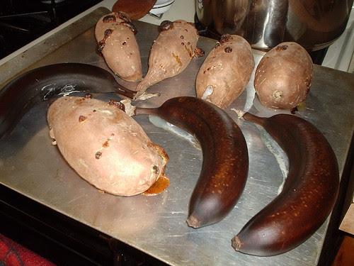 Sweet Potatoes with Bananas and Honey 1