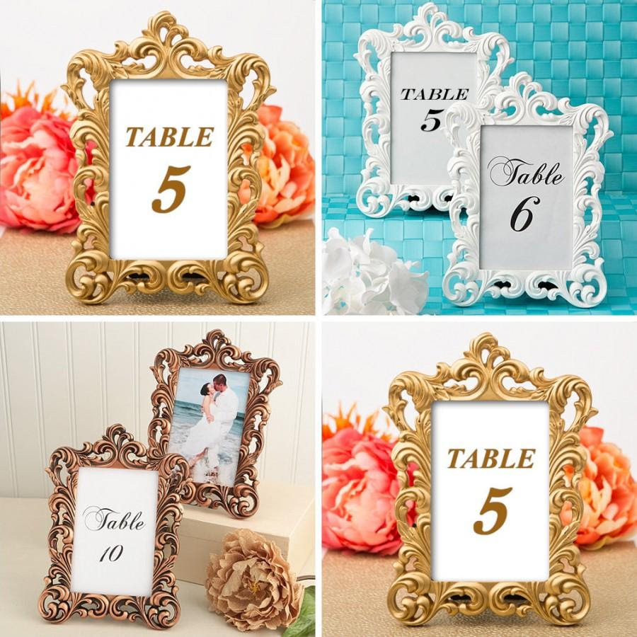 Wedding Table Numbers 10 Wedding Table Decor Holder 4 X 6