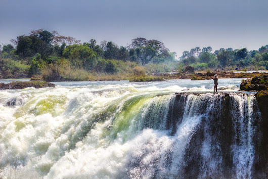 Throwback Thursday - The Devils Pool, Victoria Falls.