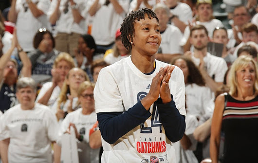 Tamika Catchings Joins PS&E as Director of Player Programs & Franchise Development | Indiana Pacers