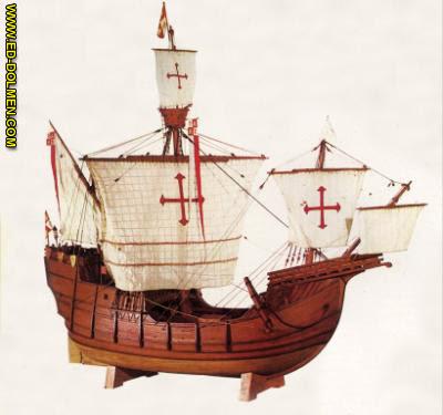 Cristobal Colón Y Sus Naves