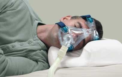 CPAP Multi Mask Sleep Aid Pillow :: sleep apnea mask pillow