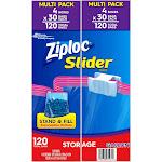 Ziploc Storage Slider Gallon Bags (120 ct.)