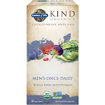 Garden of Life MyKind Organics Multivitamin, Whole Food, Men's Once Daily, Vegan Tablets - 30 tablets
