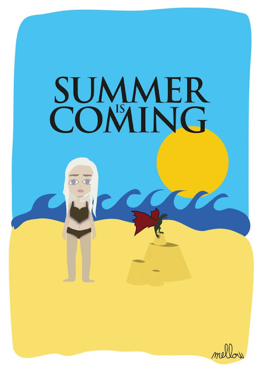Summer is coming - Game of Beach - Mattharquin - Graphiste freelance Bordeaux