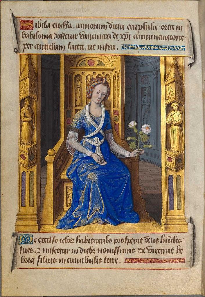 sibyllae et prophetae de Christo Salvatore vaticinantes f