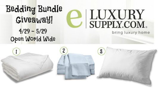 eLuxurySupply Bedding Bundle Giveaway