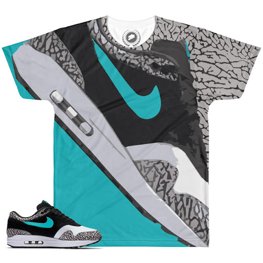 Atmos Air Max 1 Match T-Shirt | Doin' ThAtmos