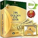 #10: Under Eye Mask Gold Eye Mask Anti-Aging Hyaluronic Acid 24k Gold Eye Patches Under Eye Pads for Moisturizing & Reducing Dark Circles Puffiness Wrinkles