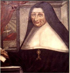 English: Mechtilde of Bar's portrait, 17th cent.
