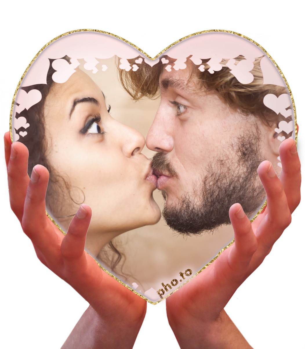 Heart Photo Template Put A Pic Into A Heart Shaped Frame