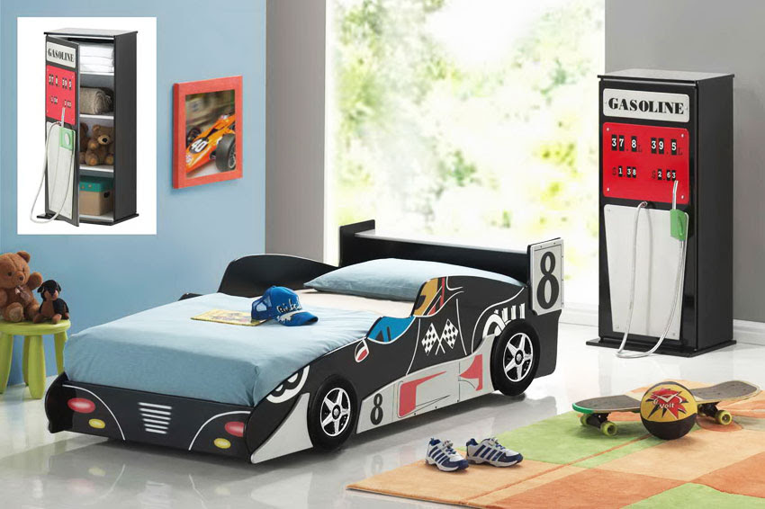 2-Black-racing-car-Bed