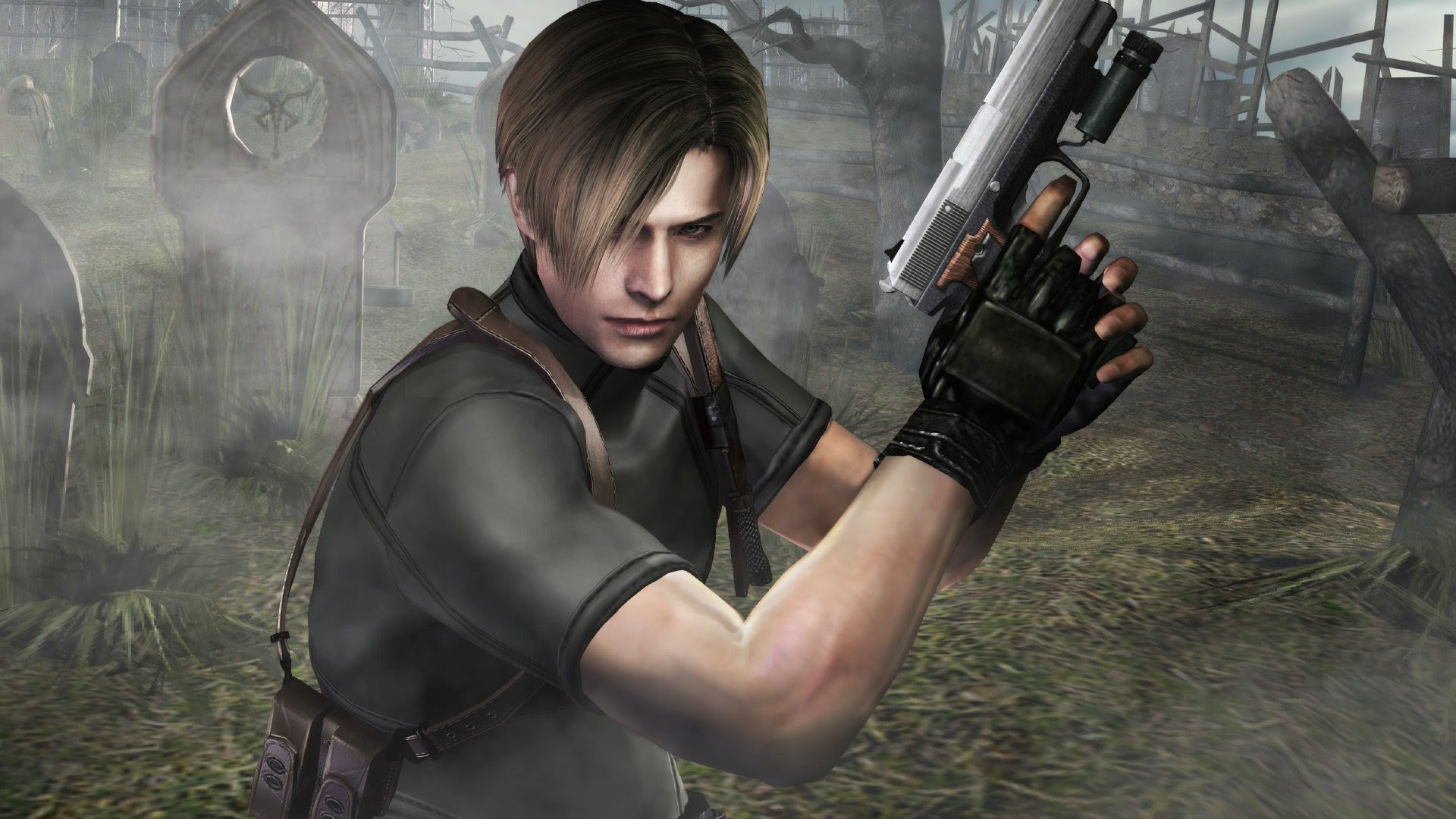 Resident Evil 4 Wallpaper Re4 Widesreen Minitokyo