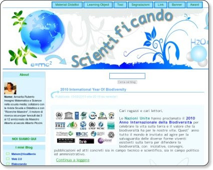 http://scientificando.splinder.com/