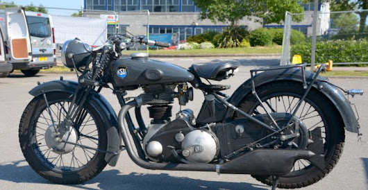 Wartime Survivor NSU 601 OSL – Battle Bike