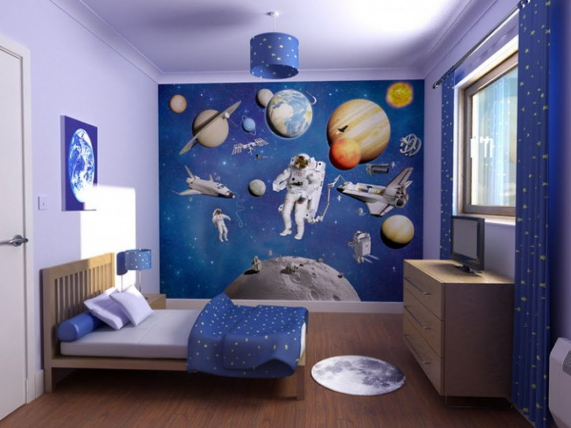 15+ Incredible Space Themed Bedroom Ideas