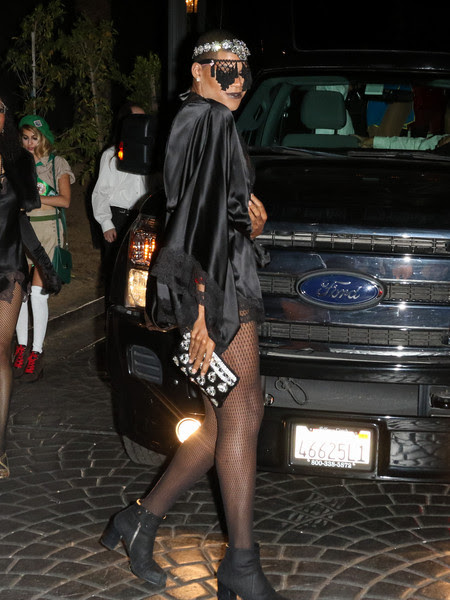 EJ Johnson at MAXIM Magazine's Official Halloween Party