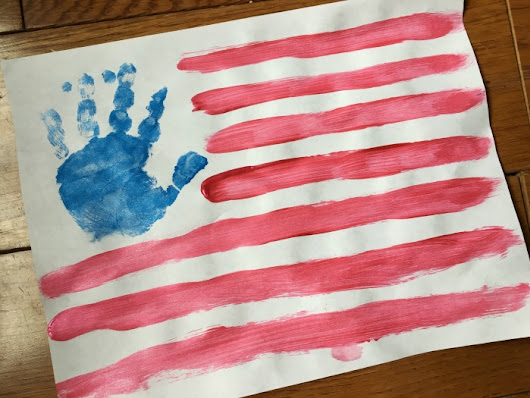 Last Minute 4th of July Kids Crafts - Free Printable!