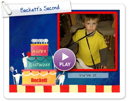 Click to play this Smilebox slideshow: Beckett's Second