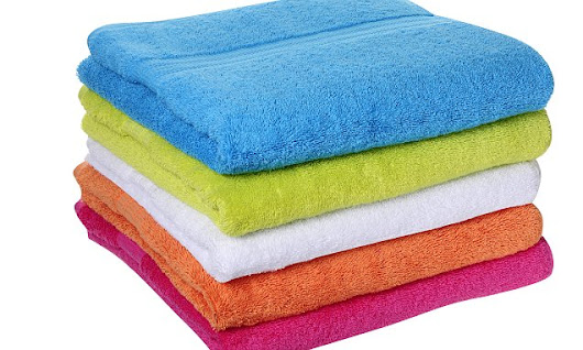 Germs on towels
