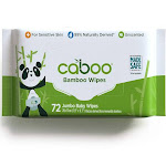 Caboo Baby Wipes - 72 Wipes