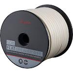 Rocketfish- 50' Spool Ultra-Flat Speaker Wire - White