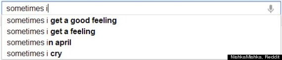example of a googlesearch that's a poem