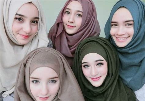 bersaudara  hijabers cantik thailand  mengguncang
