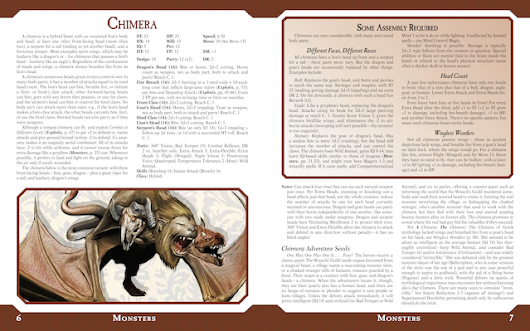 Actualización 102: A Dungeon Fantasy Roleplaying Game Bestiary? · Dungeon Fantasy Roleplaying Game, Powered by GURPS