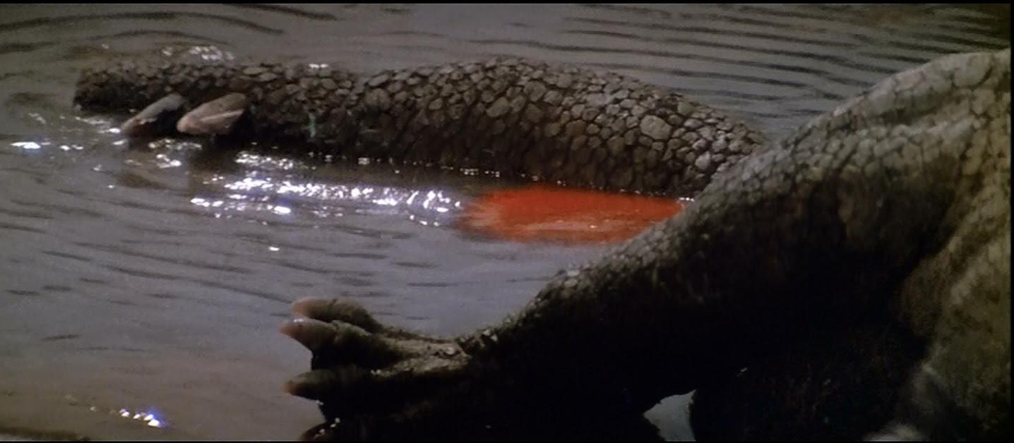 Nothing says dead monster like rectal bleeding.