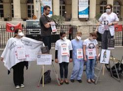 infirmières manifestation