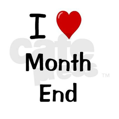 End Of Month Quotes