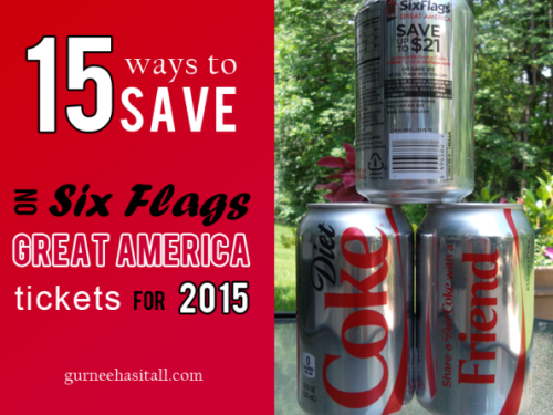 2015 Six Flags Great America Ticket Prices, Coupons and Discounts
