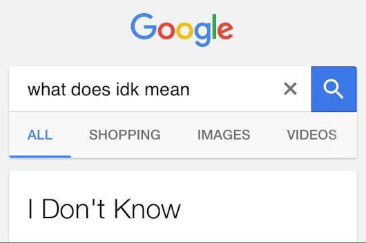 Google is useless